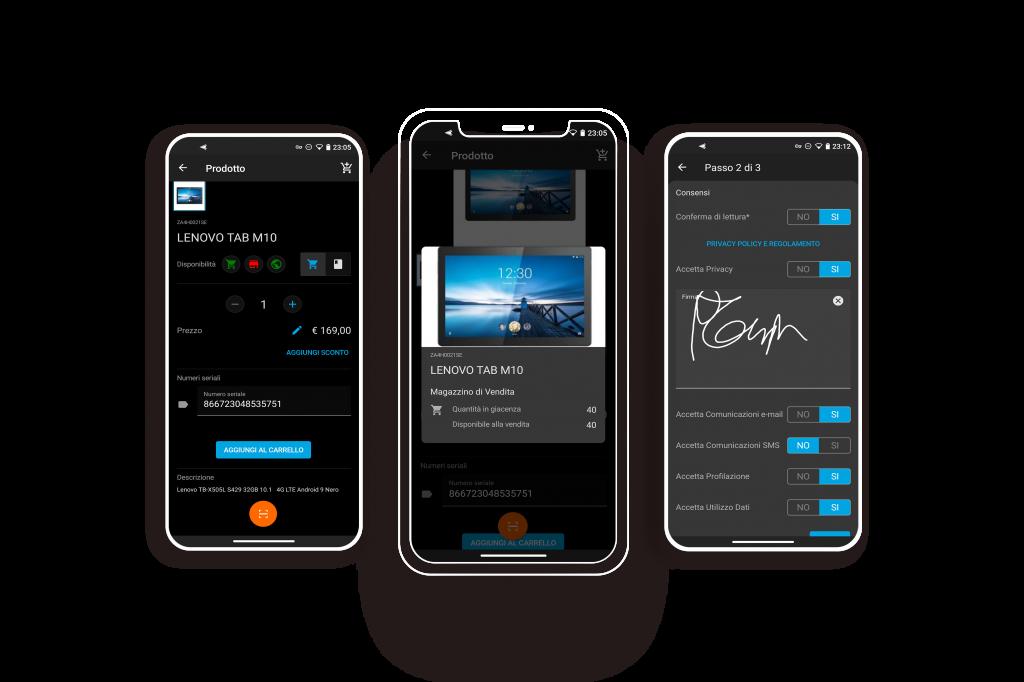 POSible gestione vendita mobile